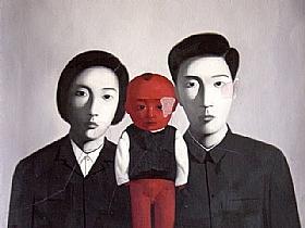 portrait de famille, le petit empereur - PEINTURES / Tableaux Asie